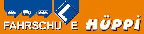 Fahrschule Hüppi // Die LKW Fahrschule Logo
